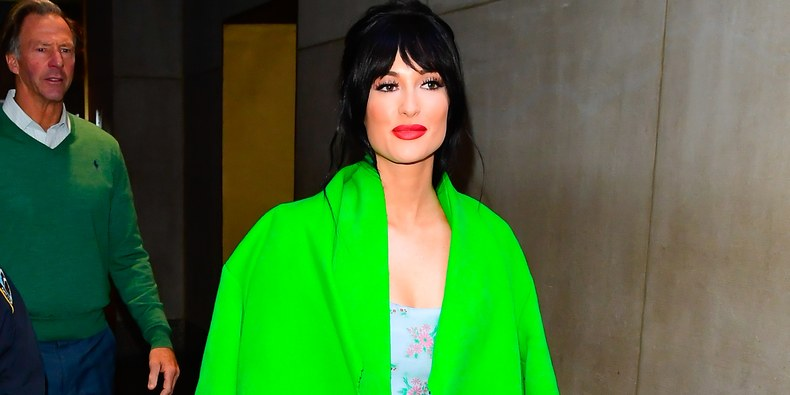 Kacey Musgraves Coat is Quite Green, Shockingly So