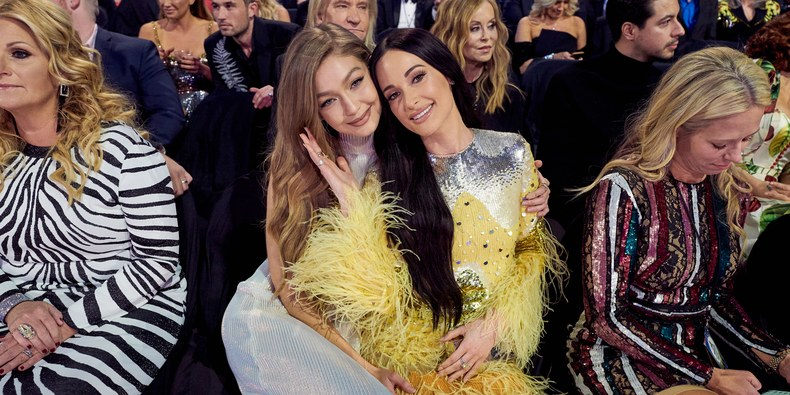 Kacey Musgraves and Gigi Hadid Had a Girl's Night Out at the CMAs