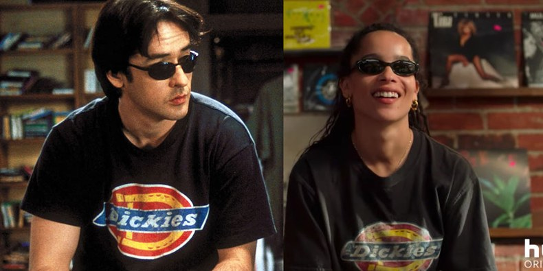 Zoë Kravitz Wears John Cusack's Old Clothes in *High Fidelity* Trailer