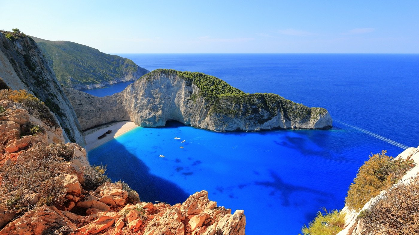 Visiting Navagio Beach (Shipwreck Cove) in Zakynthos